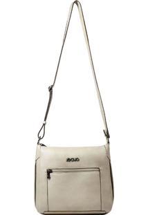 Bolsa Em Couro Recuo Fashion Bag Cacau