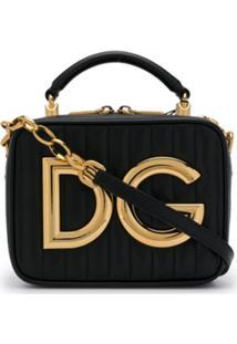 Dolce & Gabbana Bolsa Transversal Dg Girls - Preto