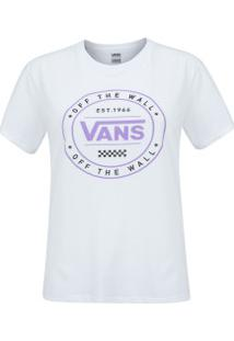 Camiseta Vans Vnb03P4T - Feminina - Branco