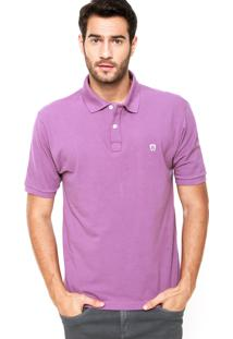 Camisa Polo Mr. Kitsch Basic Roxa