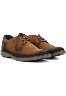 Sapato Social Couro Pegada Masculino - Masculino-Marrom-Claro