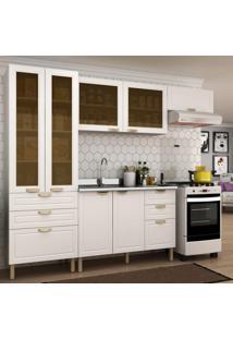 Cozinha Completa 4 Peças Americana Multimóveis 5679 Branco
