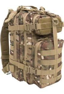 Mochila Tática Assault 30 Litros Camuflada Multicam Invictus - Unissex
