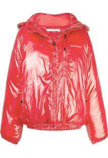 Givenchy Jaqueta Matelassê - Vermelho