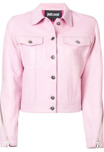 Just Cavalli Jaqueta Slim - Rosa