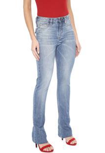 Calça Jeans Carmim Bootcut Wessex Azul