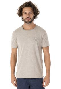 Camiseta Side Walk Camiseta Ocean Vibes Cinza