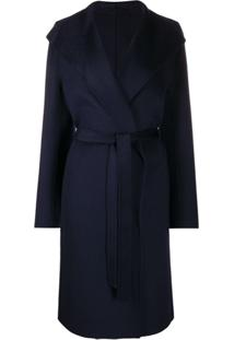 Joseph Belted Trench Coat - Azul