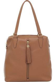 Bolsa Smartbag Tiracolo - Feminino-Marrom