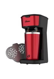 Cafeteira Oster 2Day Red 2 Em 1 Com Copo Térmico - 127V