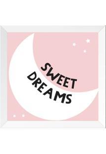 Quadro Sweet Dreams Baby Chocolate Rosa