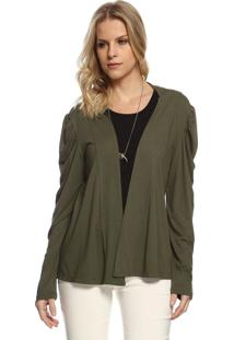 Cardigan Energia Fashion Verde