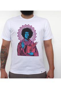 Jimi Hendrix - Camiseta Clássica Masculina