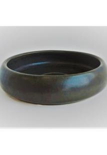 Floreira Cerâmica Preto Fosco - Tricae