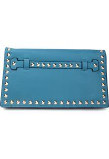 Bolsa Carteira Real Arte Spike Azul