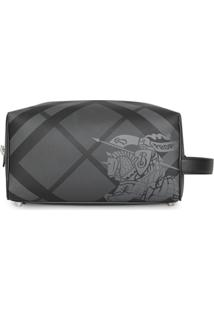 Burberry London Check Pouch - Cinza