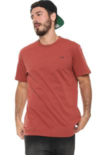 Camiseta Mcd Listrada Laranja