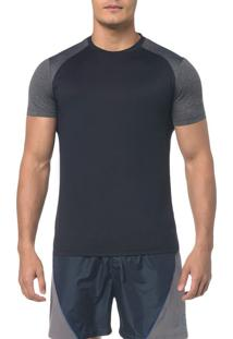 Camiseta Athletic Ck Raglan - Preto - Pp