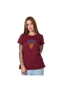 Camiseta True Love Bordô