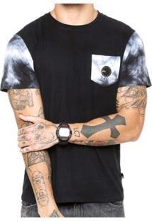 Camiseta Quiksilver Especial Sleece Dyed Masculina - Masculino