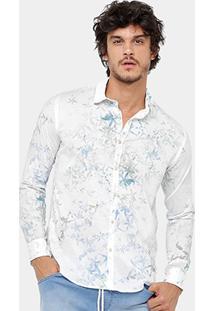 Camisa Reserva Regular Flor De Sal Masculina - Masculino