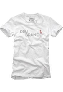Camiseta Reserva Deu Branco Masculina - Masculino