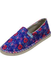 Alpargata Arrive Fashion Anastácia Floral Multicolorida
