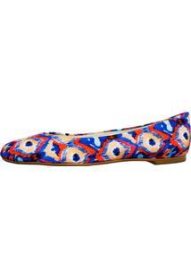 Sapatilha Vinci Shoes Étnico Laranja