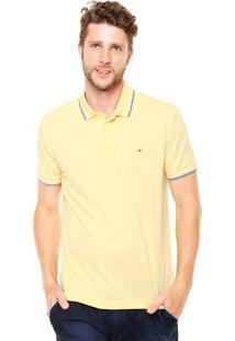 Camisa Polo Aramis Regular Fit Amarela
