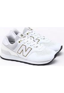 Tênis New Balance 574 Branco Feminino