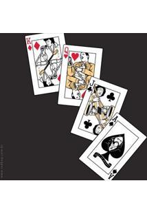Camiseta Rock Cards - Masculina