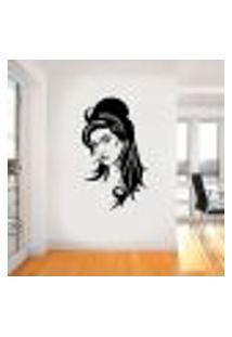 Adesivo De Parede Amy Winehouse 3 - Médio