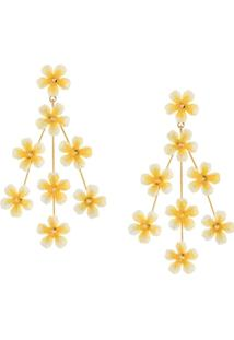 Jennifer Behr Tallulah Earrings - Dourado