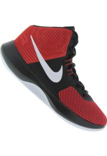 Tênis Nike Air Precision - Masculino - Vermelho/Preto