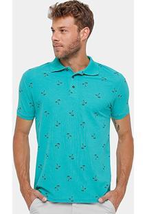 Camisa Polo Blue Bay Piquet Coqueiros Masculina - Masculino