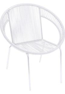 Cadeira Cancun- Branca- 88X78X78Cm- Or Designor Design