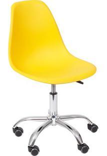 Cadeira Eames Dkr- Amarela- 93X47X41Cm- Or Desigor Design
