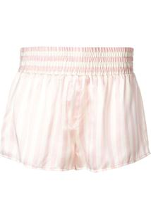Morgan Lane Short De Pijama Corey Listrada - Rosa
