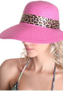 Chapéu Clássico Com Laço - Rosa - Líquido