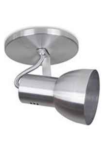 Spot Sobrepor Aluminio Lixado 1E27 Sp1915/1 Kin
