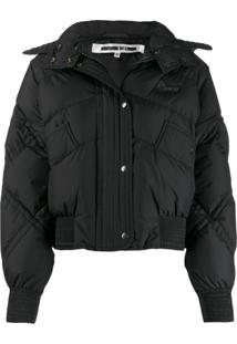 Mcq Alexander Mcqueen Hooded Padded Jacket - Preto