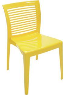 Cadeira Victoria Amarelo