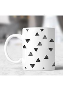Caneca Aquarela Triangles