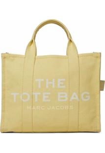 Marc Jacobs Bolsa Tote The Small Traveler - Amarelo