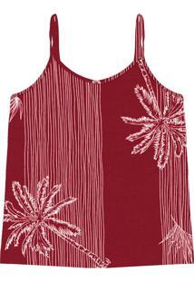 Blusa De Alça Feminina Vermelho