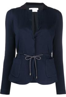 Fabiana Filippi Tailored Drawstring Cardigan - Azul