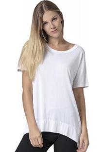 Blusa Amazonia Vital Basic Feminina - Feminino-Branco