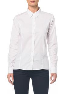 Camisa Basica M/L - Branco 2 - 42