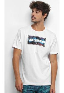 Camiseta O'Neill Wild Masculina - Masculino-Branco