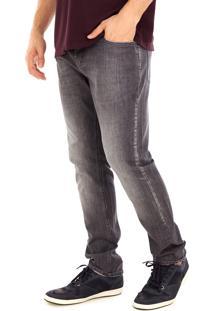 Calça Jeans Side Walk Calça Jeans Black Preto